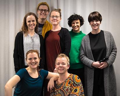 Foto på MUCF:s medarbetare som deltar på Landsbygdsriksdagen 2020. Fotograf: Mats Petersson