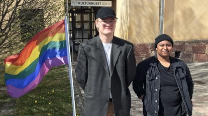 Unga HBTQ-personer saknar mötesplatser - P4 Gävleborg