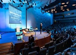 Bild från inledningen i stora salen från Rikskonferensen 2019. Foto: Mats Petersson