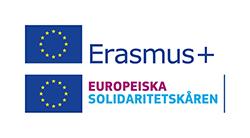 Loggor för Erasmus+ och Europeiska Solidaritetskåren