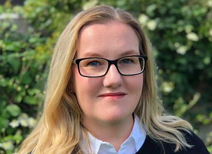 Bild på  Marie Pettersson Hallberg, chef, avdelningen för statsbidrag. Foto: Foto: Ebba Hallberg