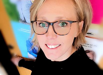 Maria Reisten, samordnare för Ungdomsdialog i Västerås stad. Foto: Privat