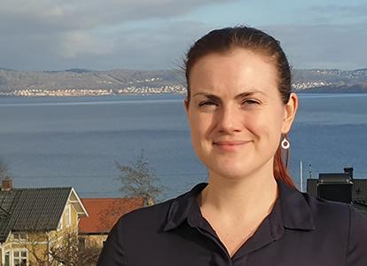 Ellen Lundkvist, utvecklingsledare på MUCF, arbetar för att unga på landsbygden ska få mer inflytande.Foto: Rickard Paldan
