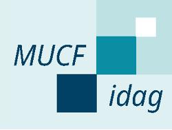 Grafik i blåa nyanser med texten MUCF idag