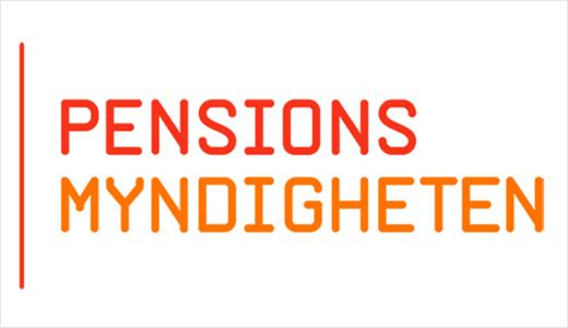 Pensionsmyndighetens logotyp.