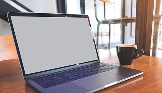 Bärbar dator.