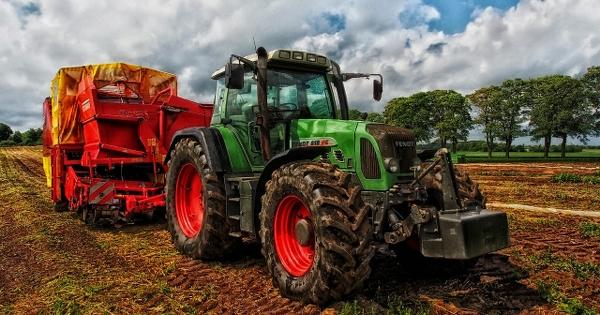Bild av traktor