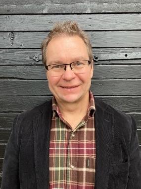 Halvprofilbild på Magnus Eklund