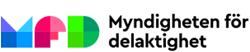 Bild på Myndigheten för delaktighets logotyp