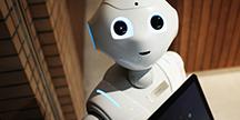 En robot. Foto