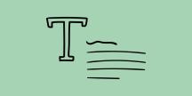 Illustration av text